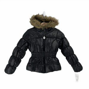 Rothschild black puffer coat New with tags 10-12